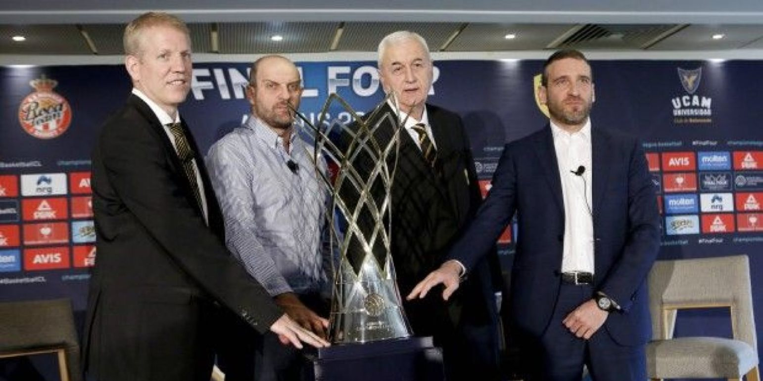 Προπονητές Final 4 Basketball Champions League